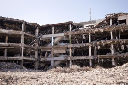Bâtiment de démolition Banque d'images - 9327671