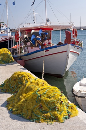 Fishing boats on Samos