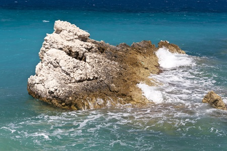 Coast of Samos Stock Photo - 11284939