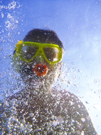 Snorkeler photo