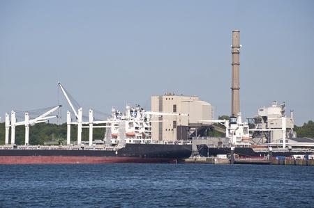 kiel: Port of Kiel, Germany Stock Photo