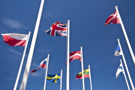britan: Flags