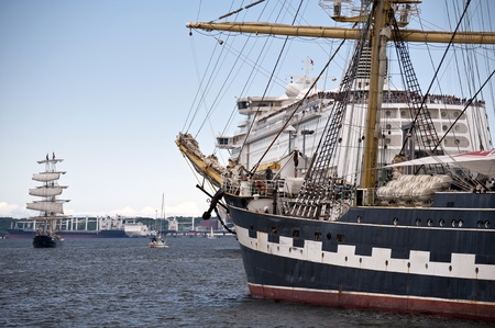 Tall ship Stock Photo - 11637536