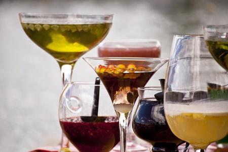 cocktails: Coctails Stock Photo