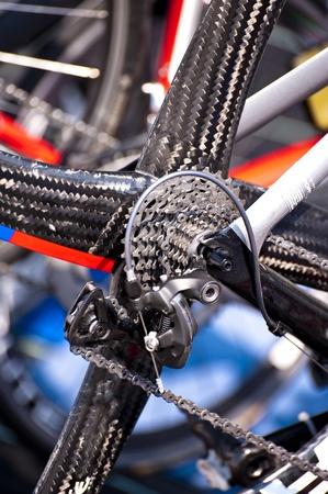 racing bike: Racing bike Stock Photo
