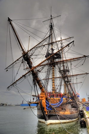 Old sailing ship Stock Photo - 11748434
