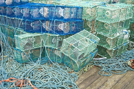 Fishing nets Stock Photo - 11757315