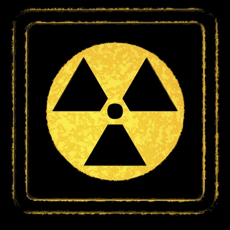 radiactividad: Radioactividad Foto de archivo