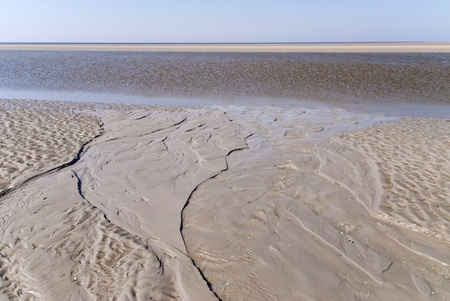 Beach of St. Peter-Ording, Germany photo