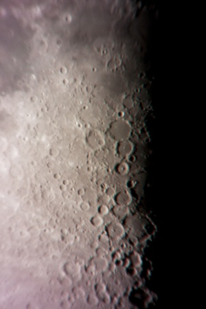 terminator: Moon Stock Photo