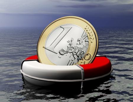 salvage: Euro Salvage Stock Photo
