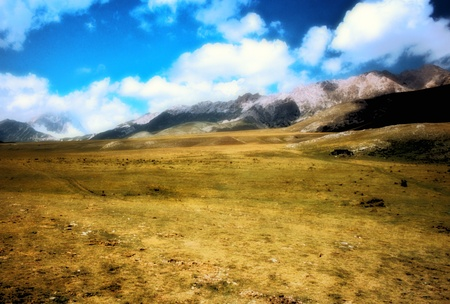 Campo Imperatore in the Abruzzi photo
