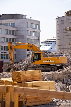 Demolition Building Stock Photo - 12992976