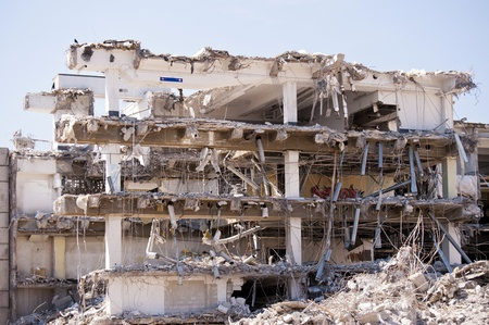 building site: Demolition Building