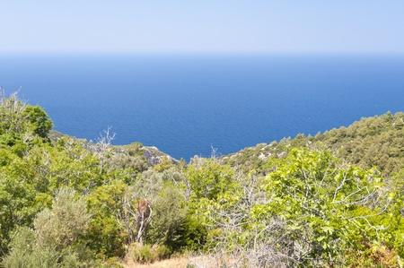 Landscape on Samos Stock Photo - 12978489
