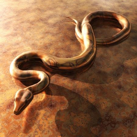 3d snake: Snake