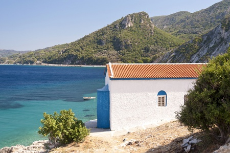 atilde: Orthodox Church on Samos Stock Photo