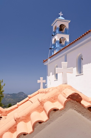 Orthodox Church on Samos photo