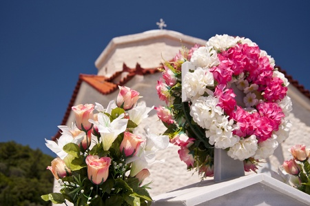 Cemetery on Samos photo