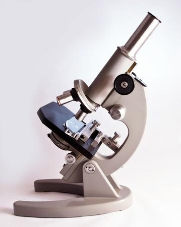 lens unit: Microscope Stock Photo