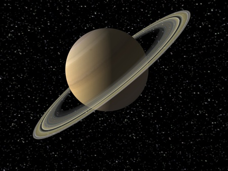 Saturn Stock Photo