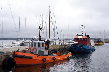 barca da pesca: Pesca Cutter Archivio Fotografico