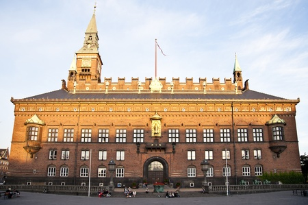 old town townhall: Town Hall in Copenhagen