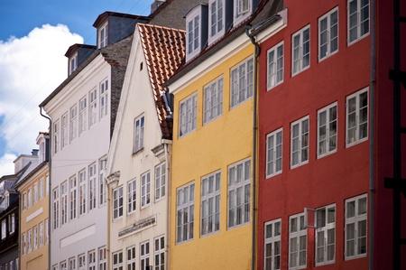 Scene in the old town of Copenhagen photo