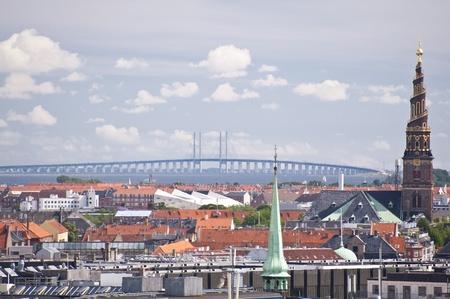 Skyline van Kopenhagen