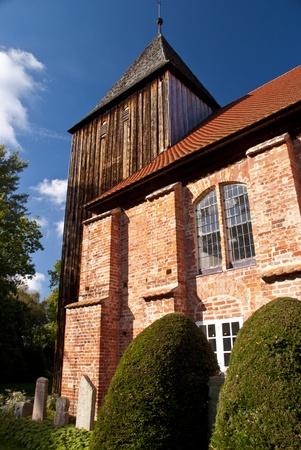 Church Seemannskirche of Prerow, Germany Stock Photo - 15810705