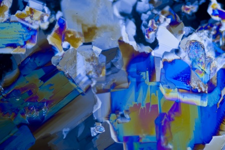crystallize: Microcrystals of Saccharin