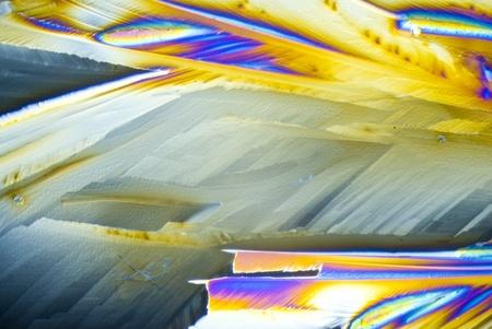 polarization: Microcrystals of Citric Acid