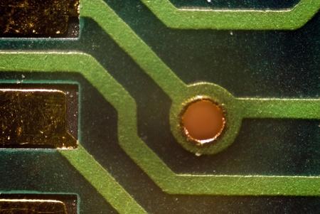 micro drive: Micro Photo of a Board