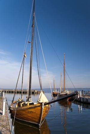 Fishing boat - Zeesboot - in Darss, Germany Stock Photo - 15912073