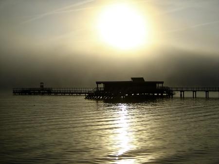 Kiel Fjord in the morning Stock Photo - 15911468