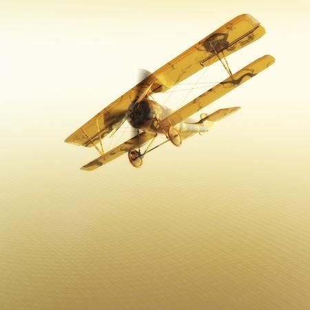 Digital Biplane Visualization photo