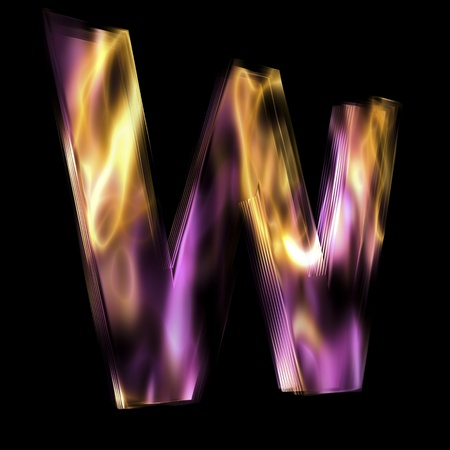 scripting: Flaming 3D Letter