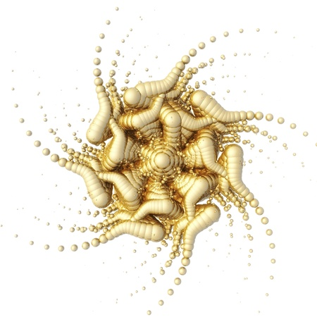 Visualization of a fractal Structure photo