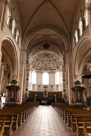 nave: Cathedral of Trier in Germany
