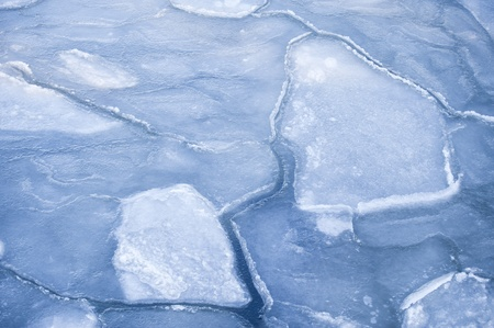 ice floes: Ice Floes in Kiel, Germany