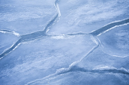 icily: Ice Floes in Kiel, Germany