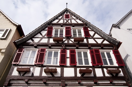 teck: House in Kirchheim Teck, Germany Editorial