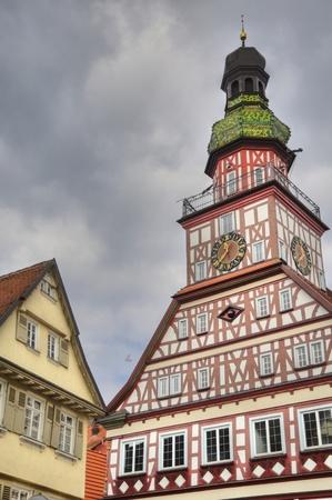 teck: House in Kirchheim Teck, Germany Stock Photo