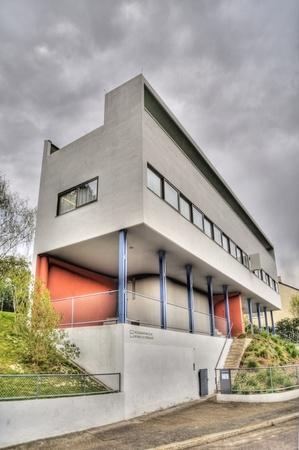 Modern historical german architecture in the Weissenhofsiedlung  Stuttgart photo