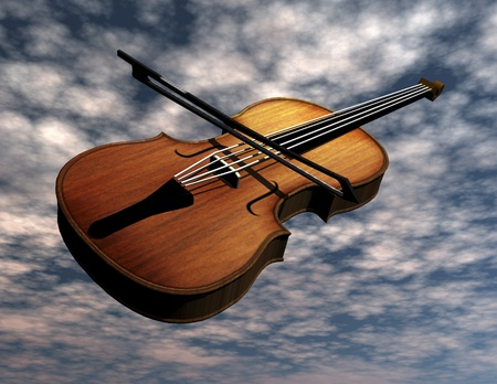 surrealist: Digital Visualization of a Violin