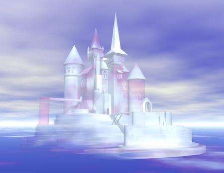 illusionary: digital visualization of a castle