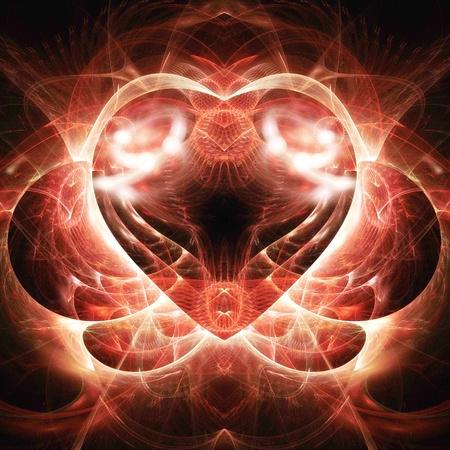 Digitale Illustratie van een Fractal