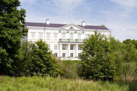 herrenhaus: Manor House Huseby Bruk in Schweden Editorial