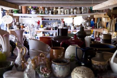 tr�delmarkt: Flohmarkt in S�dschweden