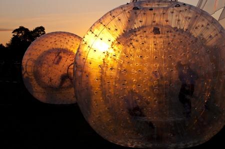 luft: Zorbing Ball on a Playground